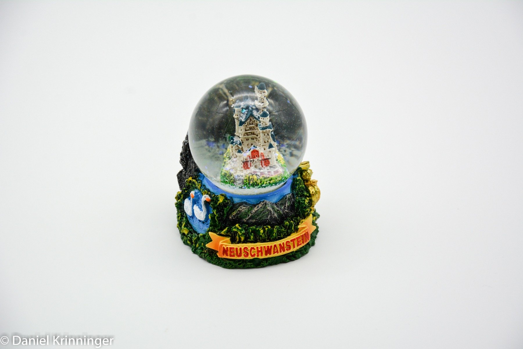 A Piece Of Europe Snow Globe''King's Castle Neuschwanstein''