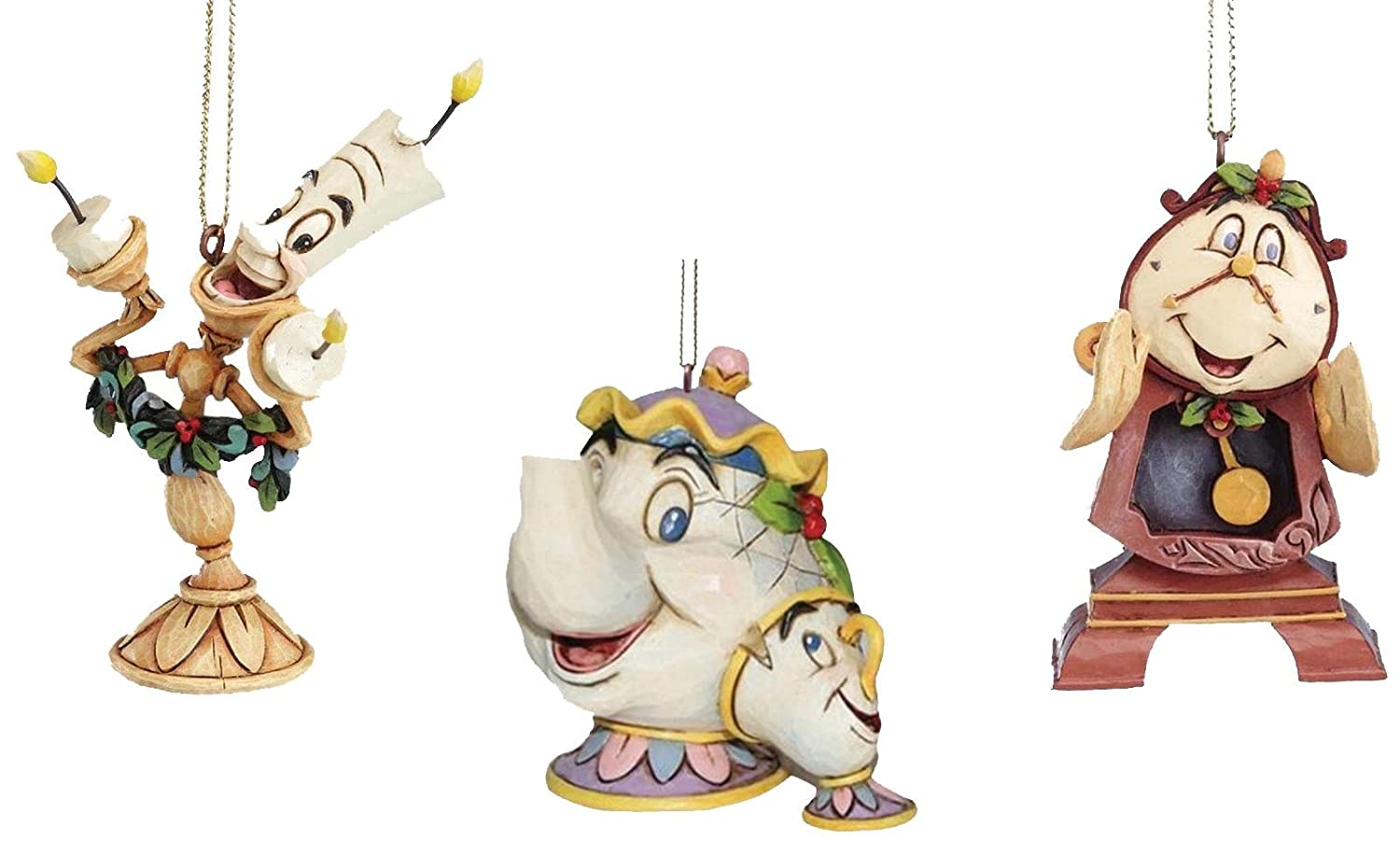 Amazonde Disney Traditions Beauty The Beast Mrs Potts Chip Cogsworth Lumiere
