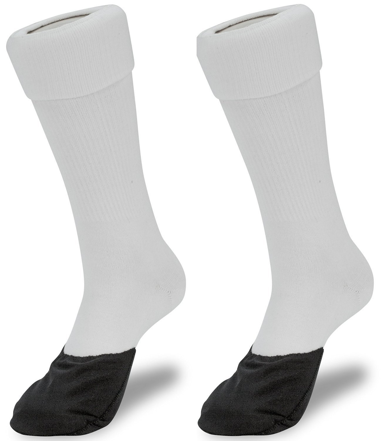 GlideWear Forefoot Protection Sock | Diabetic, Ulcers, Calluses, Blisters | White, Medium