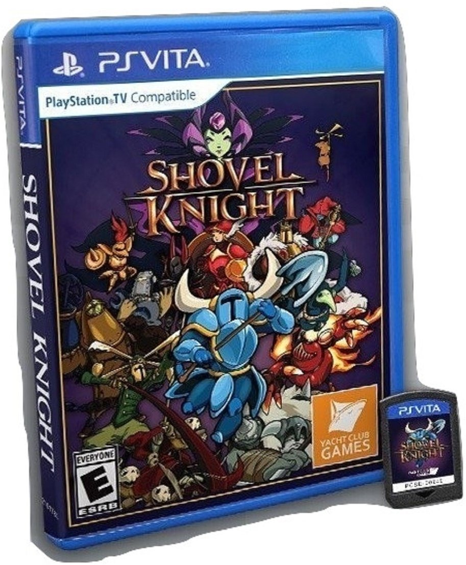 Shovel Knight Limited Print for PlayStation Vita by Yacht Club Games