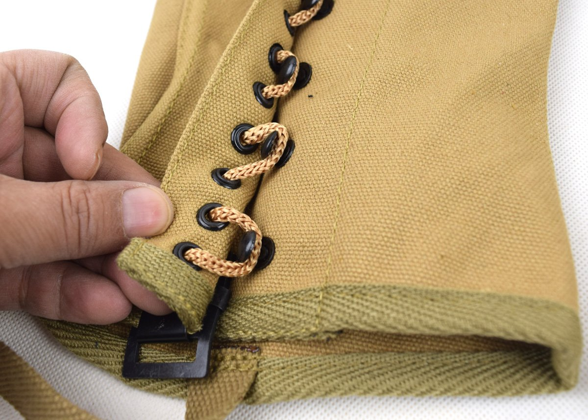 Replica WWII US Canvas Pants Gaiter Leggings Puttee by Chengxiang (Image #5)