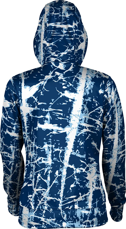 School Spirit Sweatshirt ProSphere Washburn University Girls Zipper Hoodie Distressed