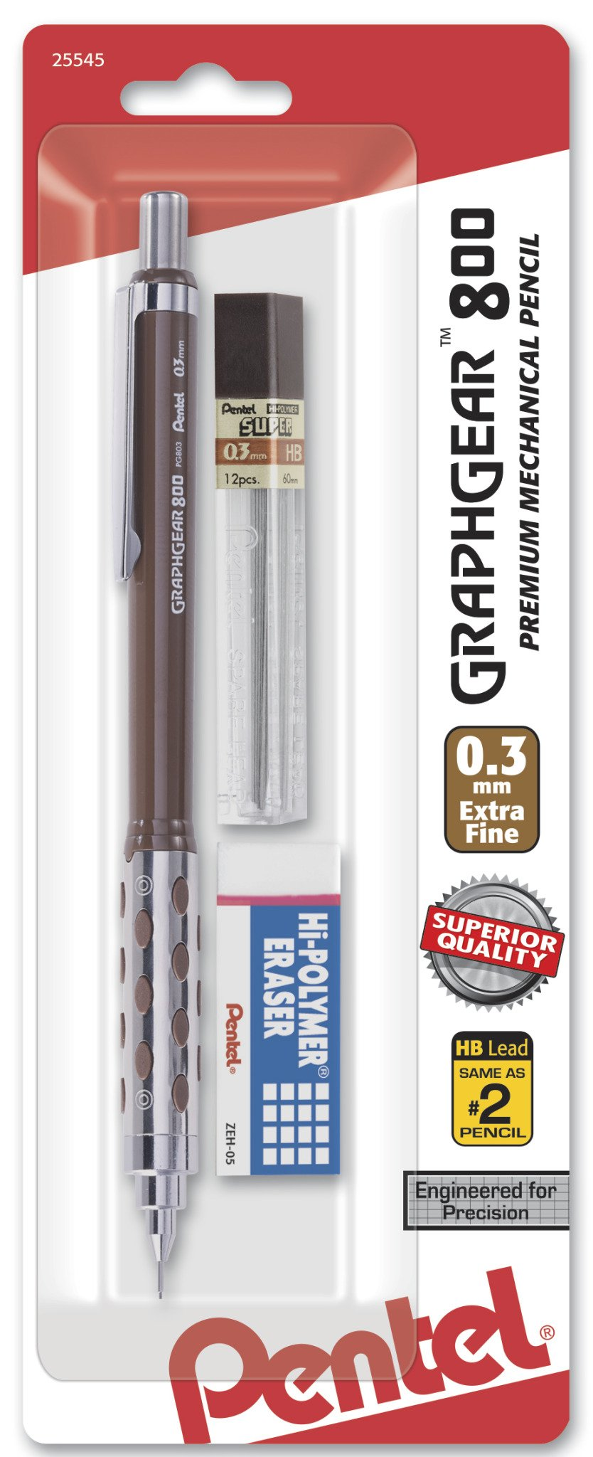 Pentel Graph engranaje 800redacción lápiz mecánico con...