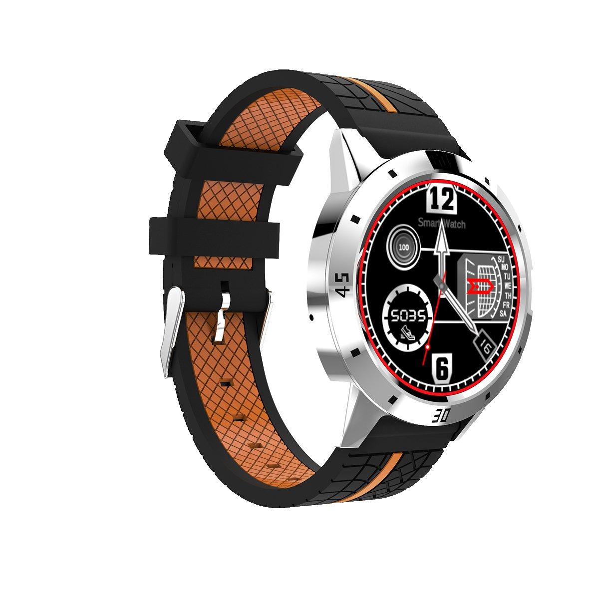 Diggro DI02 Smartwatch Bluetooth Siri Reloj inteligente MTK2502C 128MB + 64MB Monitor de Frecuencia Cardíaca Pedometer Monitor de sueño Recordatorio ...