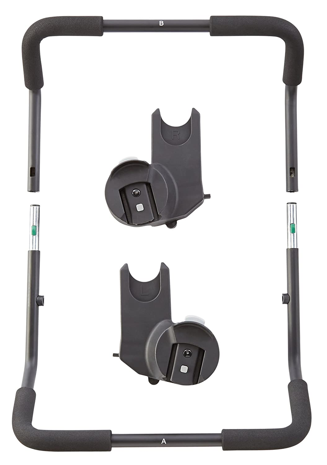 openbox baby jogger car seat adapter single for chicco and peg perego 1967361 ebay. Black Bedroom Furniture Sets. Home Design Ideas