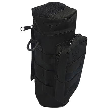 d1e9785158f7 Gosear Outdoor Sport Tactical Gear Nylon Molle Zipper Camo Large Water  Bottle Bag Kettle Pack w