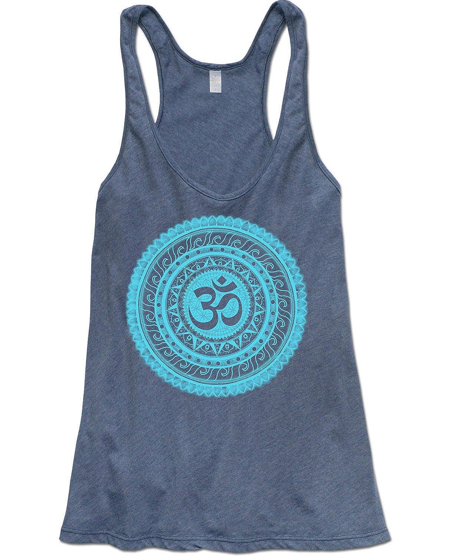 Soul Flower Women's Om Yoga Tank Top