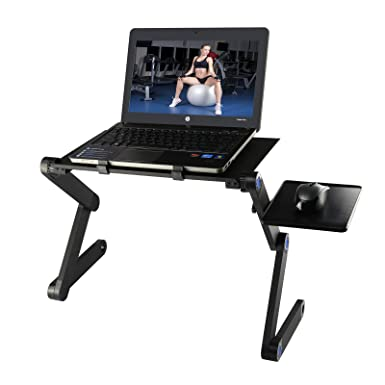 foldable laptop desk etpark portable laptop desk folding pc desk