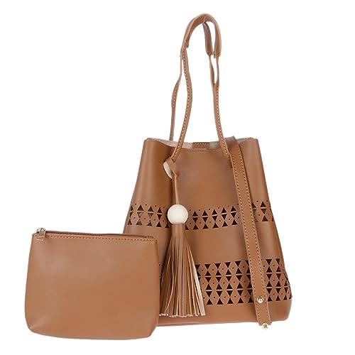 4b6188ea10 Fur Jaden Women Handbag With Sling Pouch (Beige