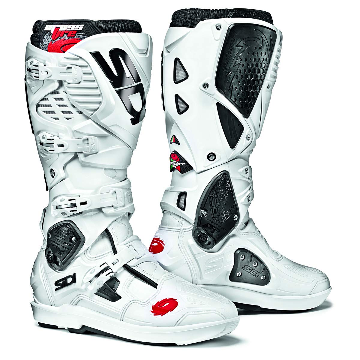 Sidi Crossfire 3 SRS Off Road Motorcycle Boots White US10//EU44 More Size Options