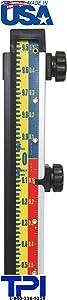 LaserLine Direct ELEVATION Cut/Fill LENKER Grade Rod For Laser Level