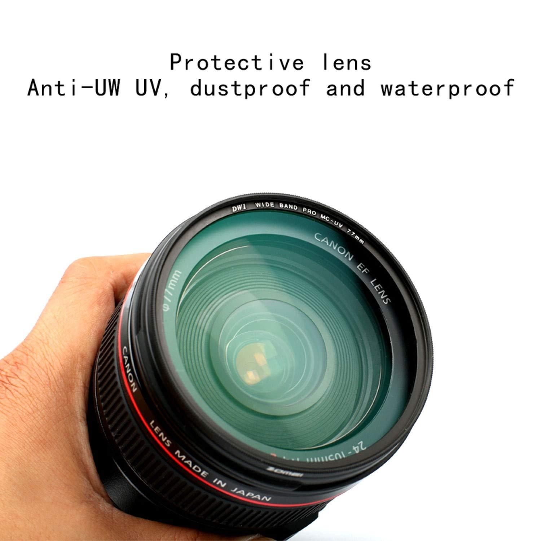 Size : 40.5mm Wangclj Filter Lens Ultra-Thin HD Multi-Layer Coating Hood Rubber Lens UV Filter