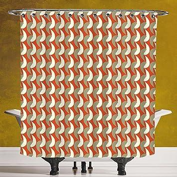 Amazon.com: Funky Shower Curtain 3.0 [Geometric,Abstract Ornamental ...