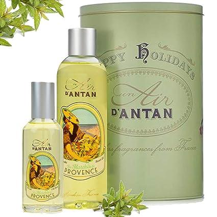 Caja Regalo Belleza Provence Mujer – 1 Colonia 55ml, 1 Gel de Ducha Hidratante 250ml