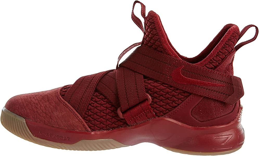 913e681fc07b NIKE Lebron Soldier XII SFG Big Kids Style  AO2910-600 Size  4.5. Back.  Double-tap to zoom
