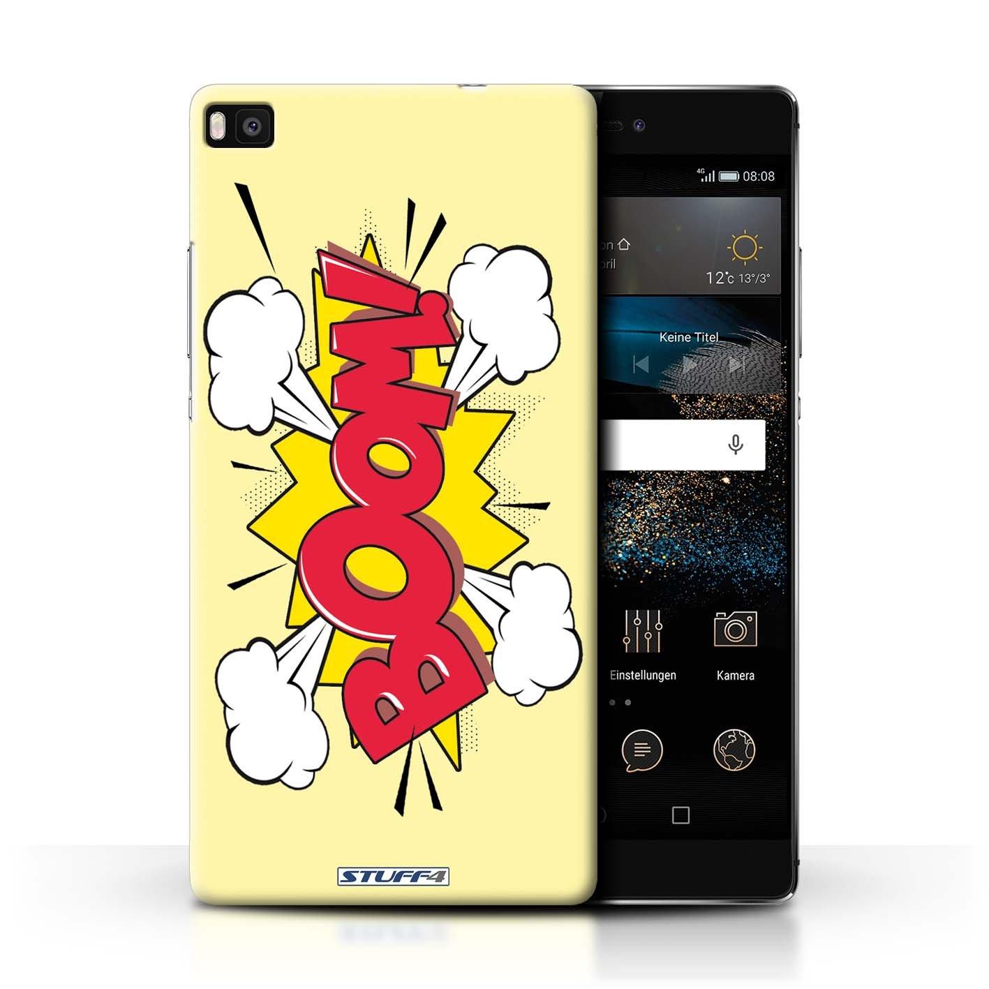 Stuff4® Carcasa/Funda Dura para el Huawei P8 / Serie ...