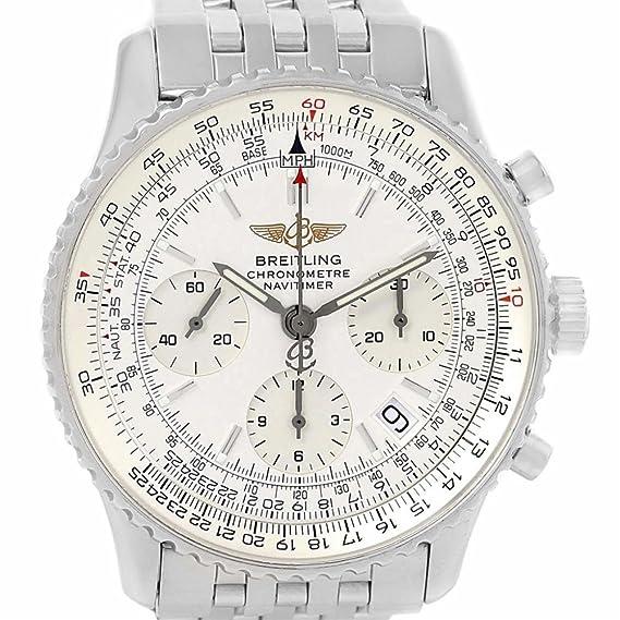 Breitling Navitimer automatic-self-wind Mens Reloj a23322 (Certificado) de segunda mano: Breitling: Amazon.es: Relojes