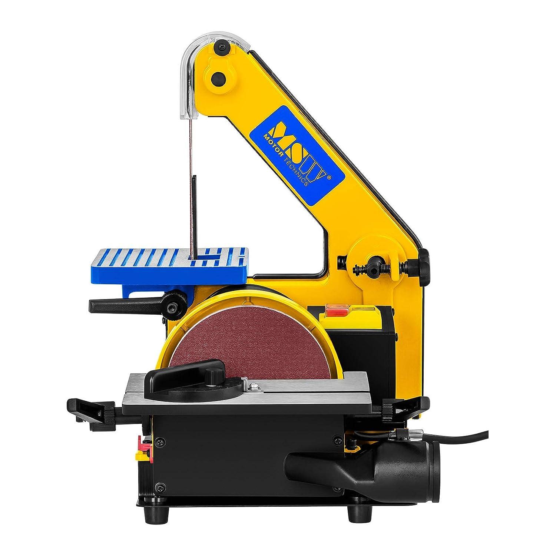 MSW Ponceuse /À Disque Et /À Bande MSW-DS300 300 W, 2.950//1.185 Tr//min, /Ø 125 mm, Bande abrasive: 760 mm // 24,4 mm, Table 182 x 125 mm