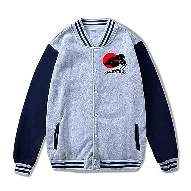 d30461df5d9 Bonsai Tree Sunrise Men s Women s Baseball Uniform Jacket Slim Fit  Sweatshirt Coat at Amazon Women s Clothing store