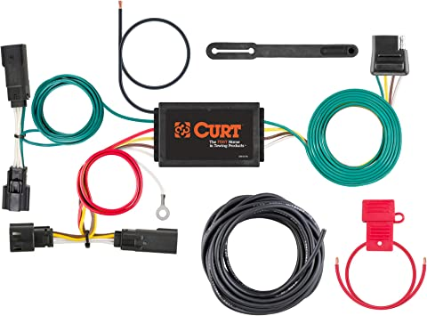 CURT 56288 Vehicle-Side Custom 4-Pin Trailer Wiring Harness for Select Buick Verano