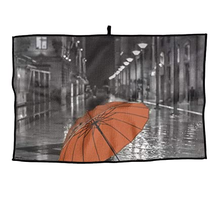 18eba18ef830 Amazon.com : HongyeMao Rain Umbrella Golf Towel Gym Towel 23.6x15 ...