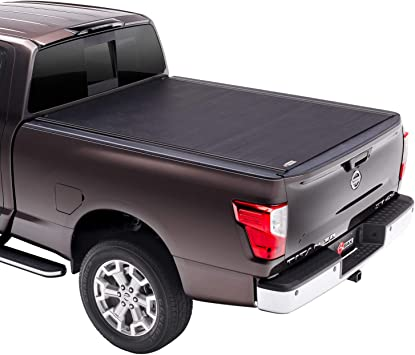 Amazon Com Bak Revolver X2 Hard Rolling Truck Bed Tonneau Cover 39524 Fits 2016 2021 Nissan Titan Xd 6 7 Bed 78 7 Automotive