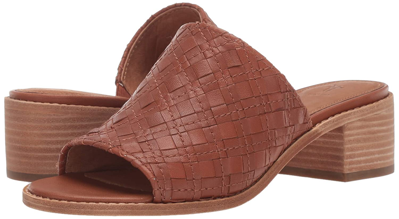 274cf793f4db5 Amazon.com: FRYE Women's Cindy Woven Mule Flat Sandal: Shoes