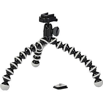 Kleine Stative können Sie unter anderem für eine Actionkamera verwenden.