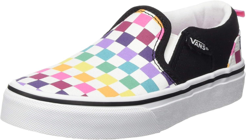Vans Asher, Zapatillas para Niñas: Amazon.es: Zapatos y complementos