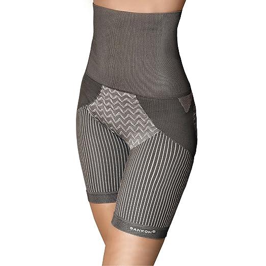 557913ef4a SANKOM Grey Thigh Slimming Tummy Waist Control Posture Shaper ...