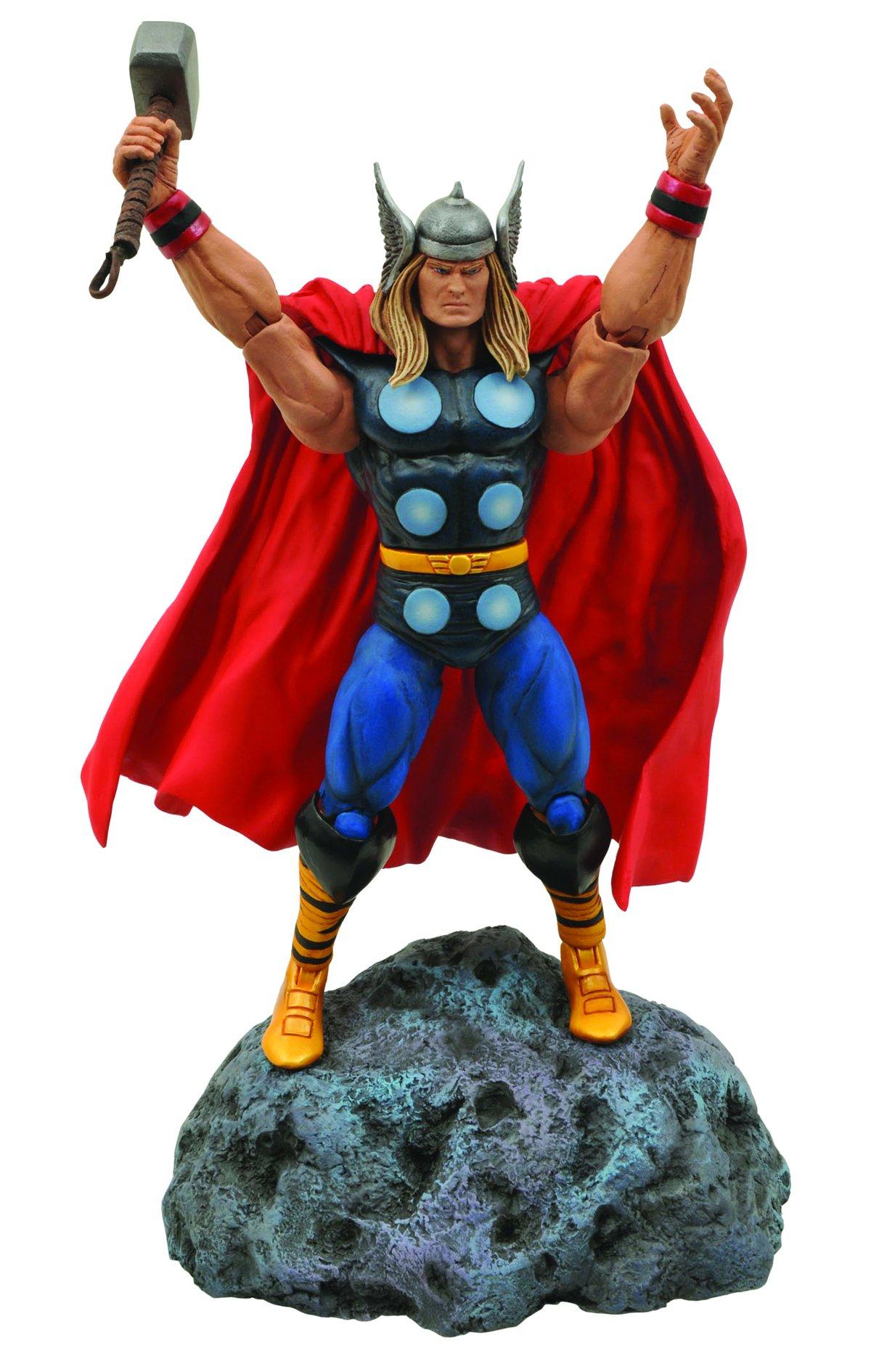 Diamond Select Toys Marvel Classic Thor Action Figure 6
