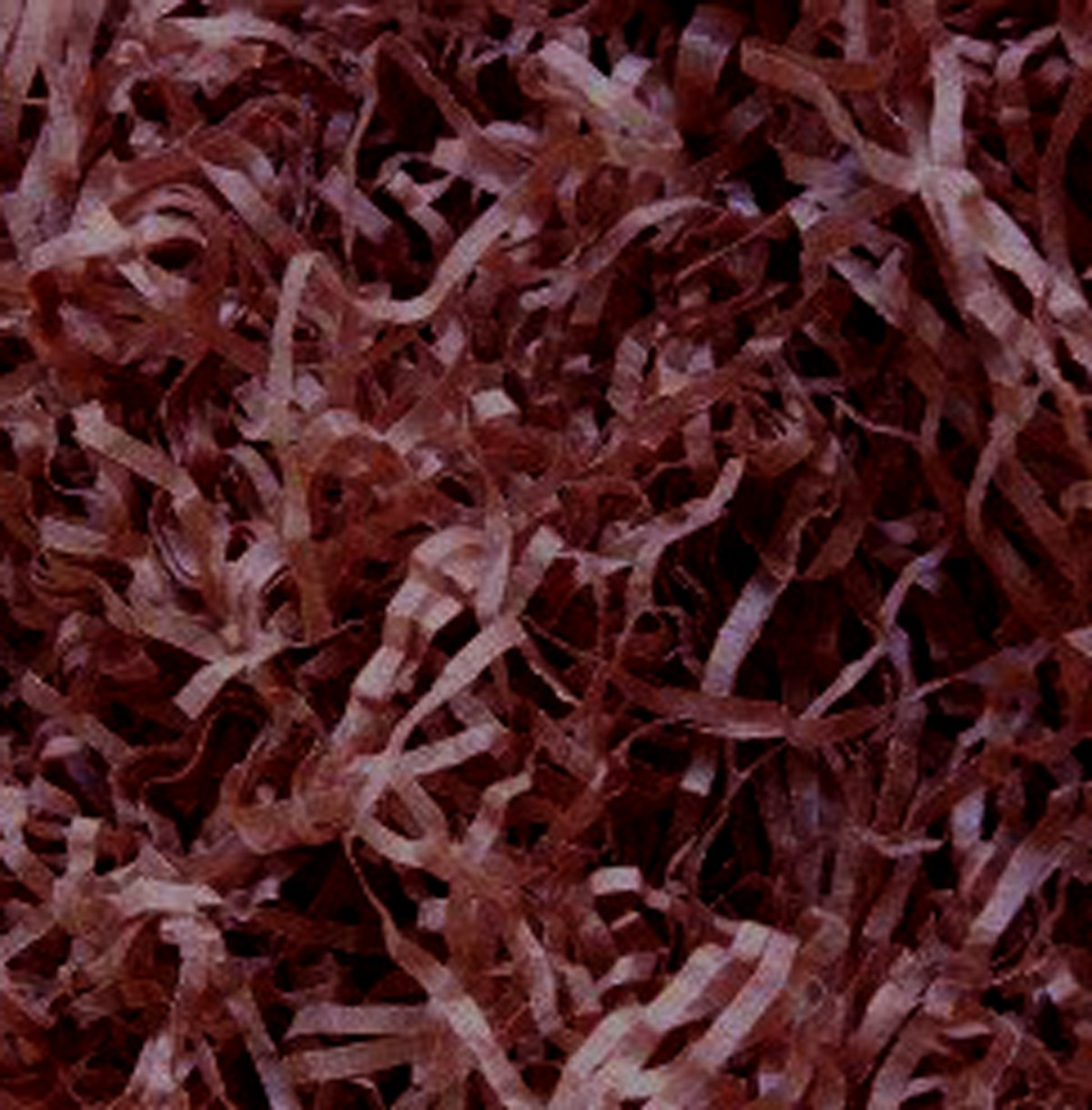 100g CRISP Shredded Tissue Paper Very Fine 2mm Cut. Choice of Colours (Brown) KitKare