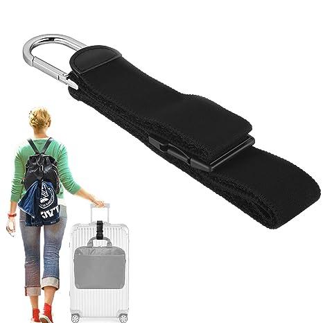 Amazon.com: Agregar una bolsa de equipaje correa de chaqueta ...