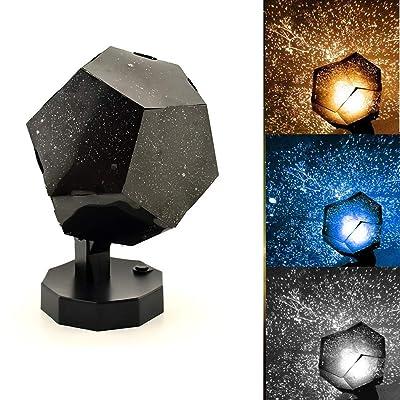 WSDXJ 60,000 Stars Original Home Planetarium, Planetarium Star Celestial Projector - Cosmic Romantic Night Light for Bedroom,for Baby Kids Nursery Bedroom Living Room: Kitchen & Dining