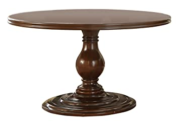 Charmant Homelegance Oratorio 54u0026quot; Round Pedestal Dining Table, Dark Cherry