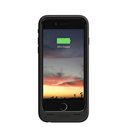 buy online 51f79 47774 mophie juice pack air - Slim Protective Mobile Battery Pack Case for iPhone  6/6s - Black