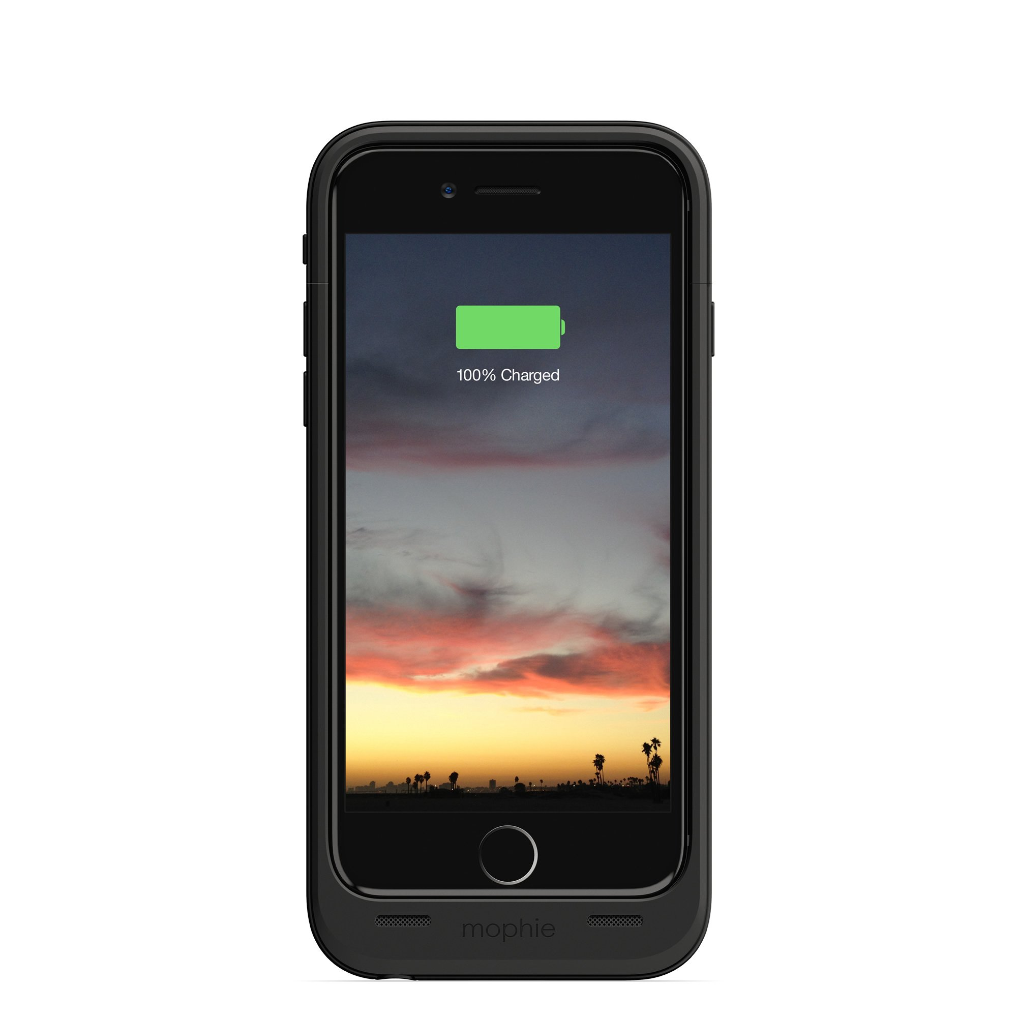 mophie juice pack air - Slim Protective Mobile Battery Pack Case for iPhone 6/6s - Black by mophie (Image #1)