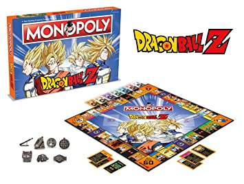 Winning Moves 2565 DRAGON BALL Z Monopoly Juego de mesa [Ingles]