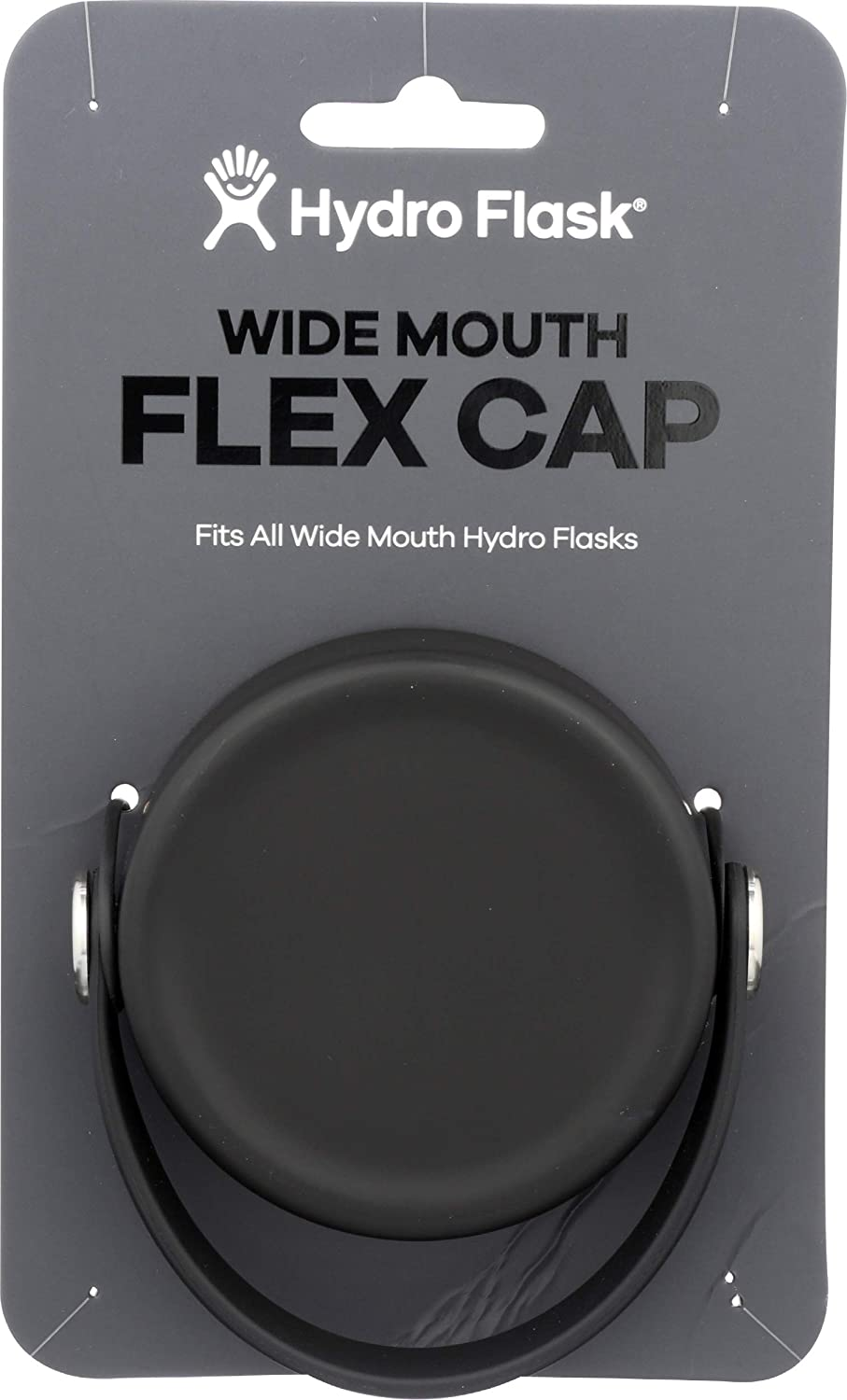 Hydro Flask, Wide Mouth Flex Cap Black