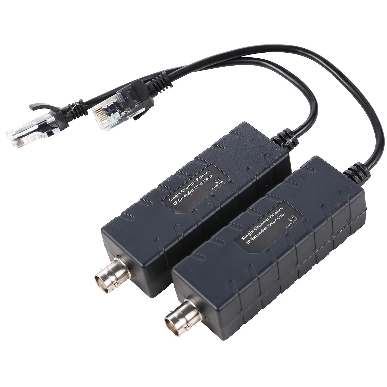 UHPPOTE - Cable coaxial para cámara de Seguridad CCTV (1 Canal ...