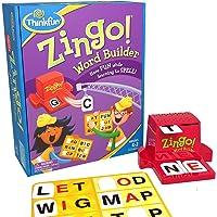 ThinkFun 7706-T Zingo Word Builder Board Game