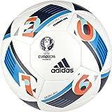 adidas Euro 16 Training Proffesional Football, Men's Size 5 (White)