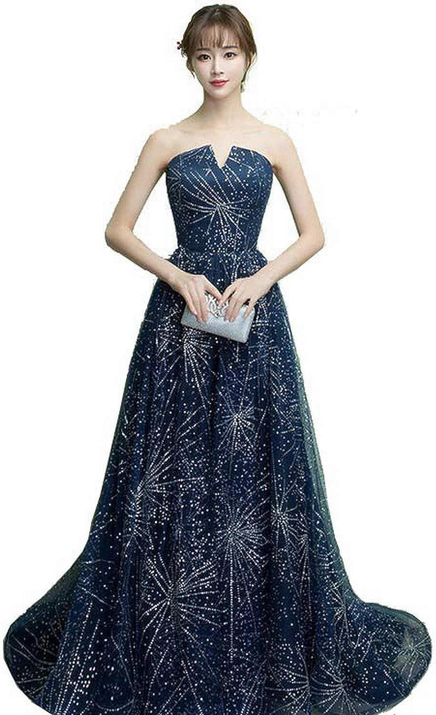 ANTI Elegant Formal Gowns Celebrity A-Line Wedding Party Dress