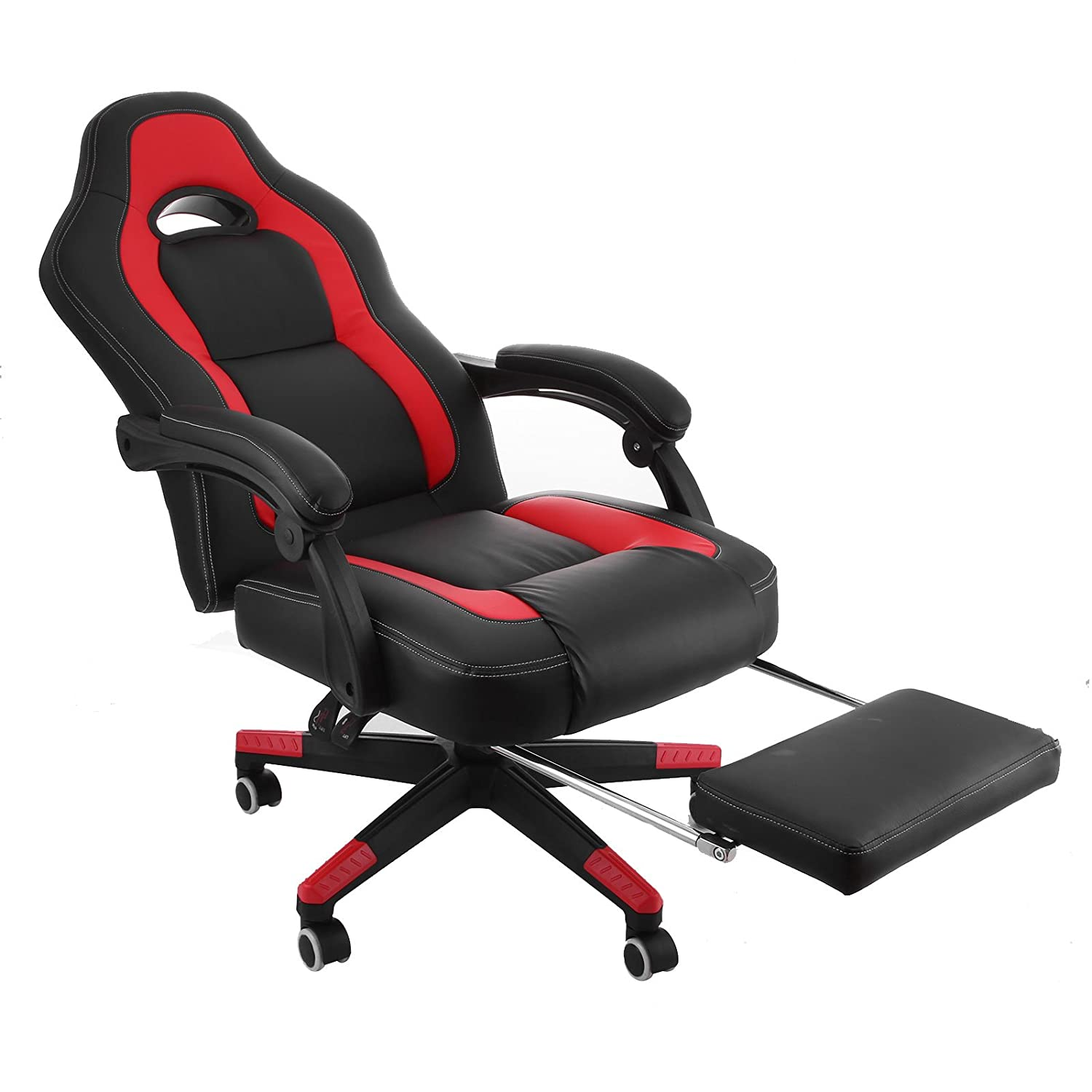 Amazon Happy Racing Gaming Chair PU Leather Ergonomic