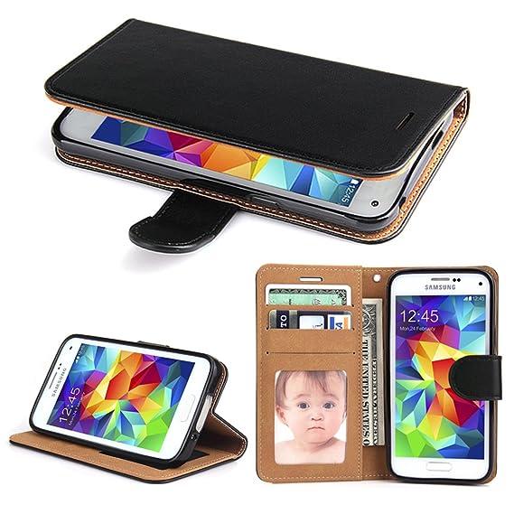 amazon com galaxy s5 case, sowoko [book style] samsung s5 leathergalaxy s5 case, sowoko [book style] samsung s5 leather wallet case flip folio