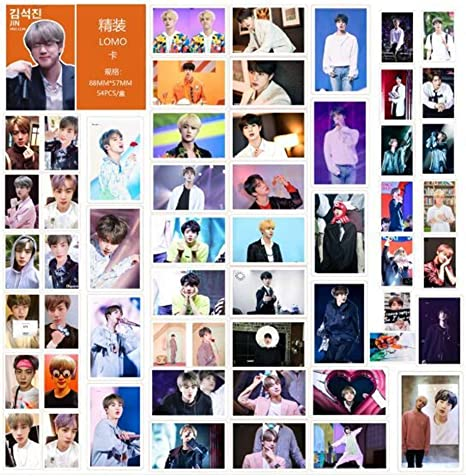 BTS LOMO Cards 54pcs BANTAN Boys Merchandise of Postcards MAP OF THE SOUL PERSONA Gifts for Army Daughter PERSONA