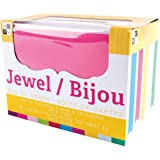 DCWV Cards and Envelopes, Jewel, 40-Pack, Size A2, 4-1/4 x 5-1/2 inches
