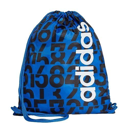 adidas GS AOP Daily, Mochila para Hombre, (Azul/Negro/Blanco), 24x15x45 cm (W x H x L): Amazon.es: Zapatos y complementos