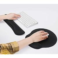 Levoit Keyboard Wrist Rest Pad, Mouse Wrist Rest for Computer Keyboard, Ergonomic Memory Foam Wrist Pad for Keyboard…