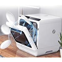 Mini Portable Dishwasher,Automatic Household Dishwasher,Desktop Dishwasher Small Dish-washing Machine Tableware Capacity…